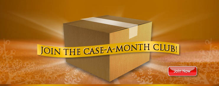 Join the trackmyfoodstorage.com case-a-month club. learn more